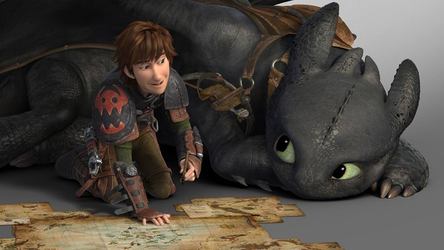 HOW TO TRAIN YOUR DRAGON 2-Official Poster Banner PROMO PHOTOS-18MARCO2014-01