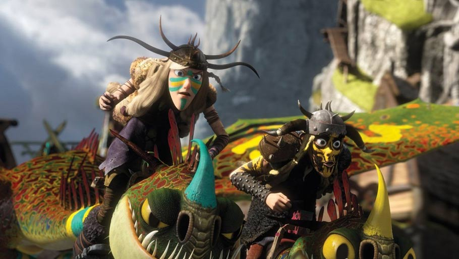 HOW TO TRAIN YOUR DRAGON 2-Official Poster Banner PROMO PHOTOS-18MARCO2014-03