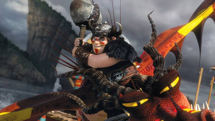HOW TO TRAIN YOUR DRAGON 2-Official Poster Banner PROMO PHOTOS-18MARCO2014-04
