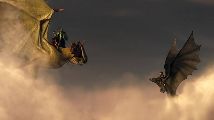HOW TO TRAIN YOUR DRAGON 2-Official Poster Banner PROMO PHOTOS-18MARCO2014-07