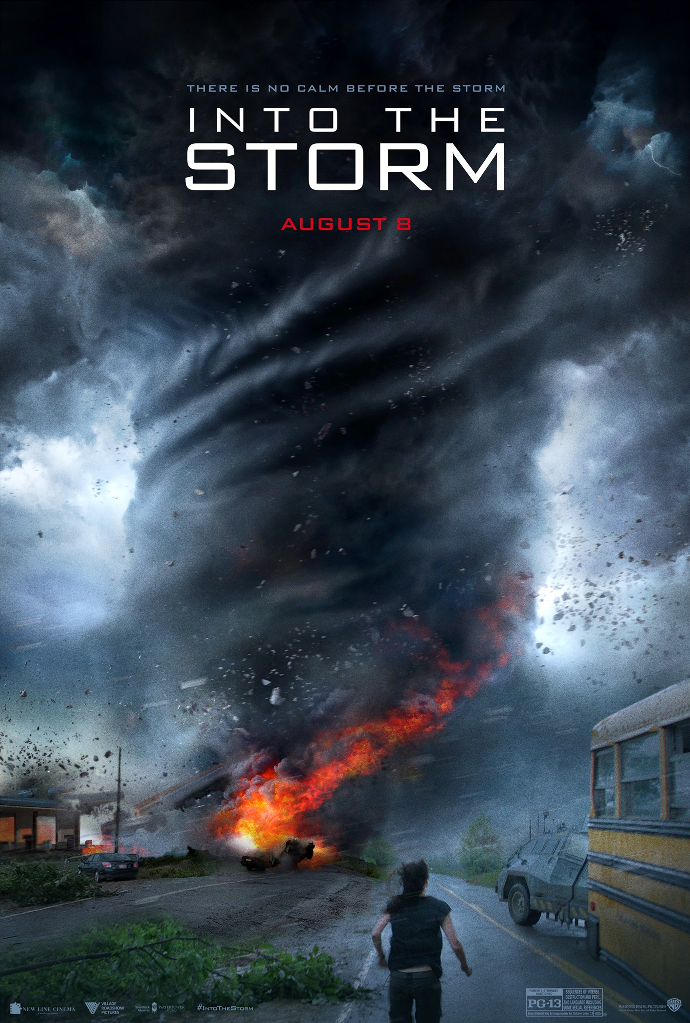 Into the Storm-Official Poster Banner PROMO XXLG-27MARCO2014