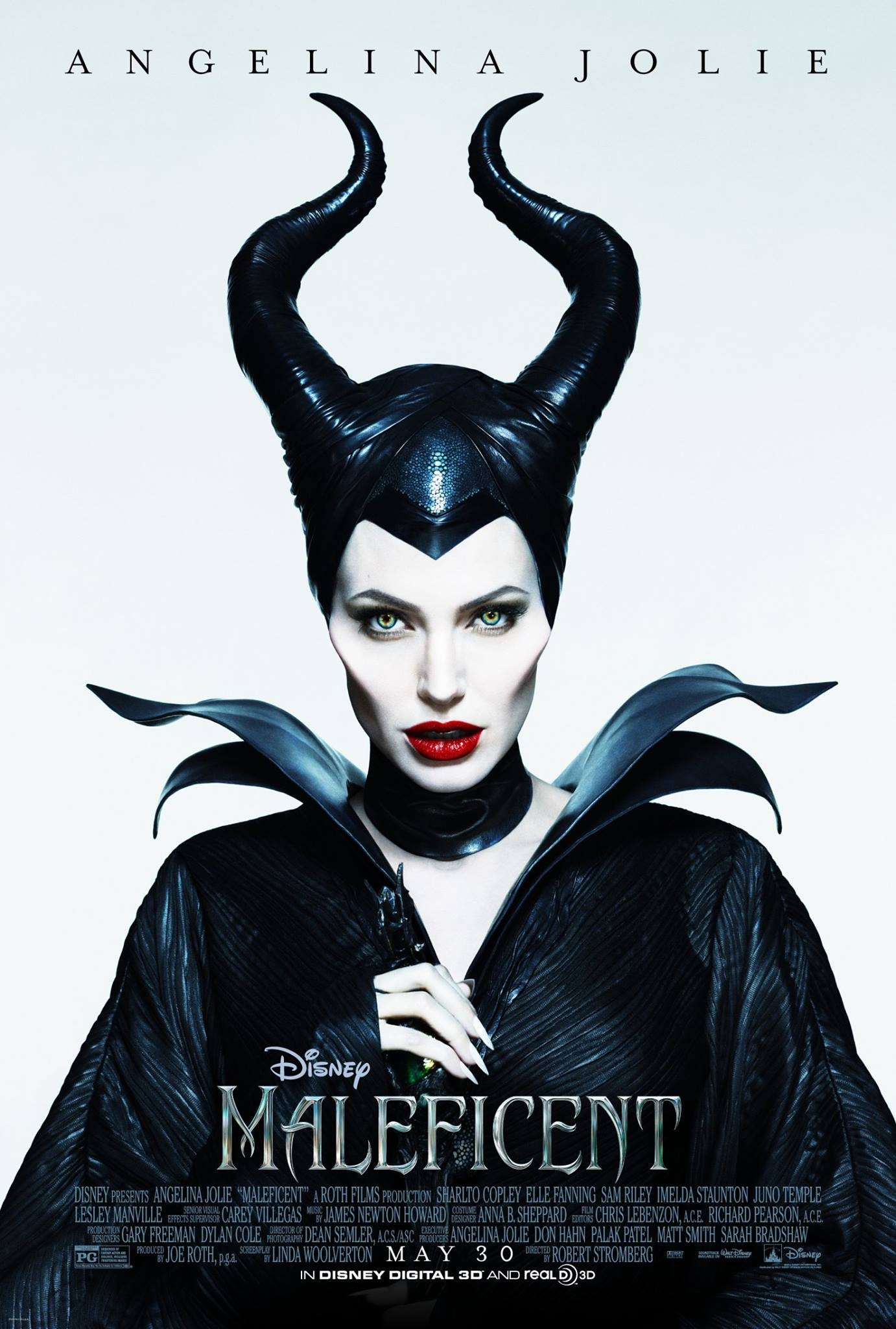 Maleficent-Official Poster Banner PROMO XLG-10MARCO2014-02