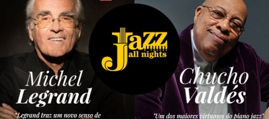 Série Jazz All Nights 2014 apresenta Michel Legrand e Chucho Valdés