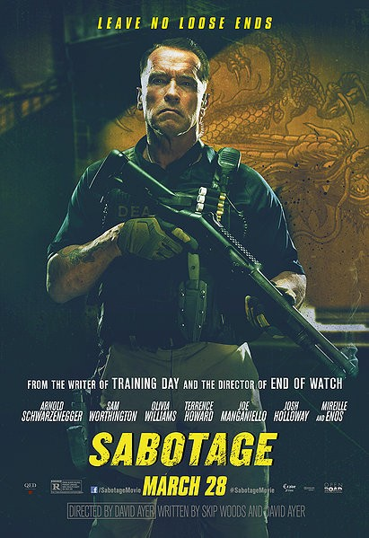SABOTAGE-Official Poster Banner PROMO CHAR-28MARCO2014-01