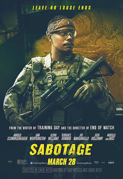 SABOTAGE-Official Poster Banner PROMO CHAR-28MARCO2014-03