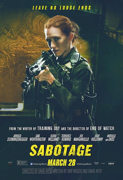 SABOTAGE-Official Poster Banner PROMO CHAR-28MARCO2014-05