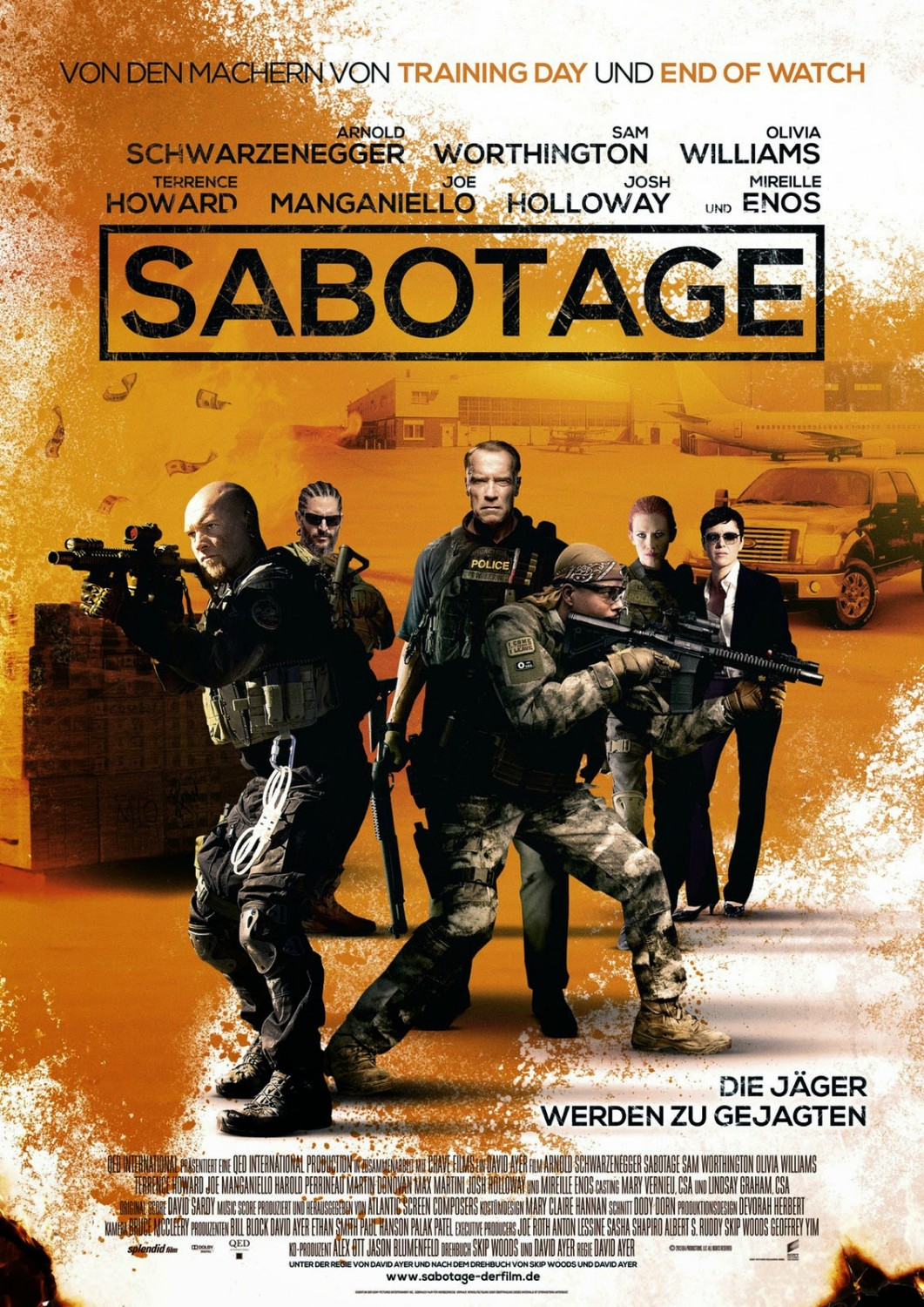 SABOTAGE-Official Poster Banner PROMO XLG-18MARCO2014