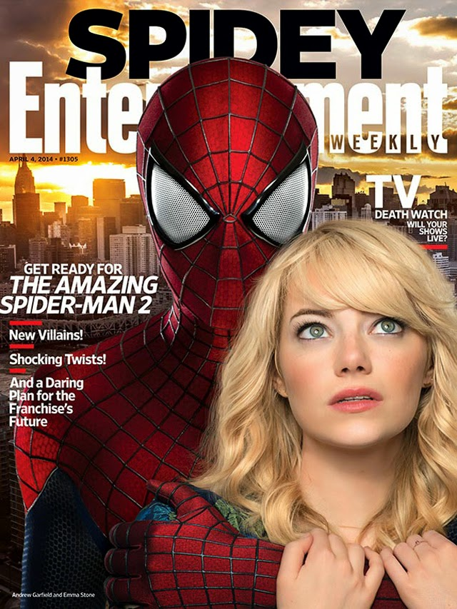 THE AMAZING SPIDER-MAN 2-Official Poster Banner PHOTOS-28MARCO2014-01