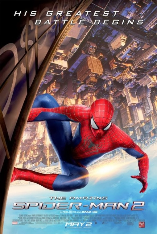 The Amazing Spider-Man 2-Official Poster Banner PROMO LOW-11MARCO2014