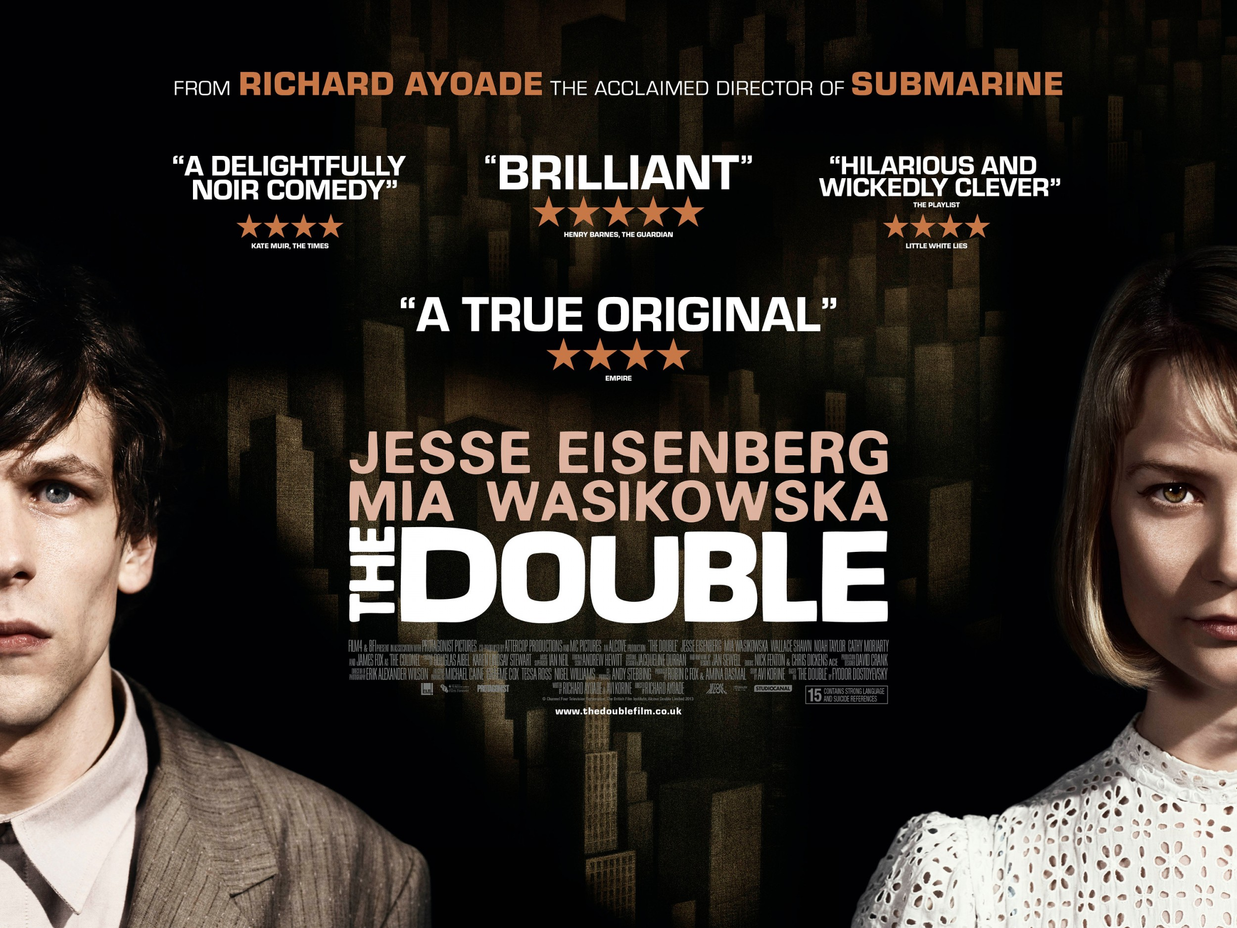 The Double-Official Poster Banner PROMO BANNER-03MARÇO2014