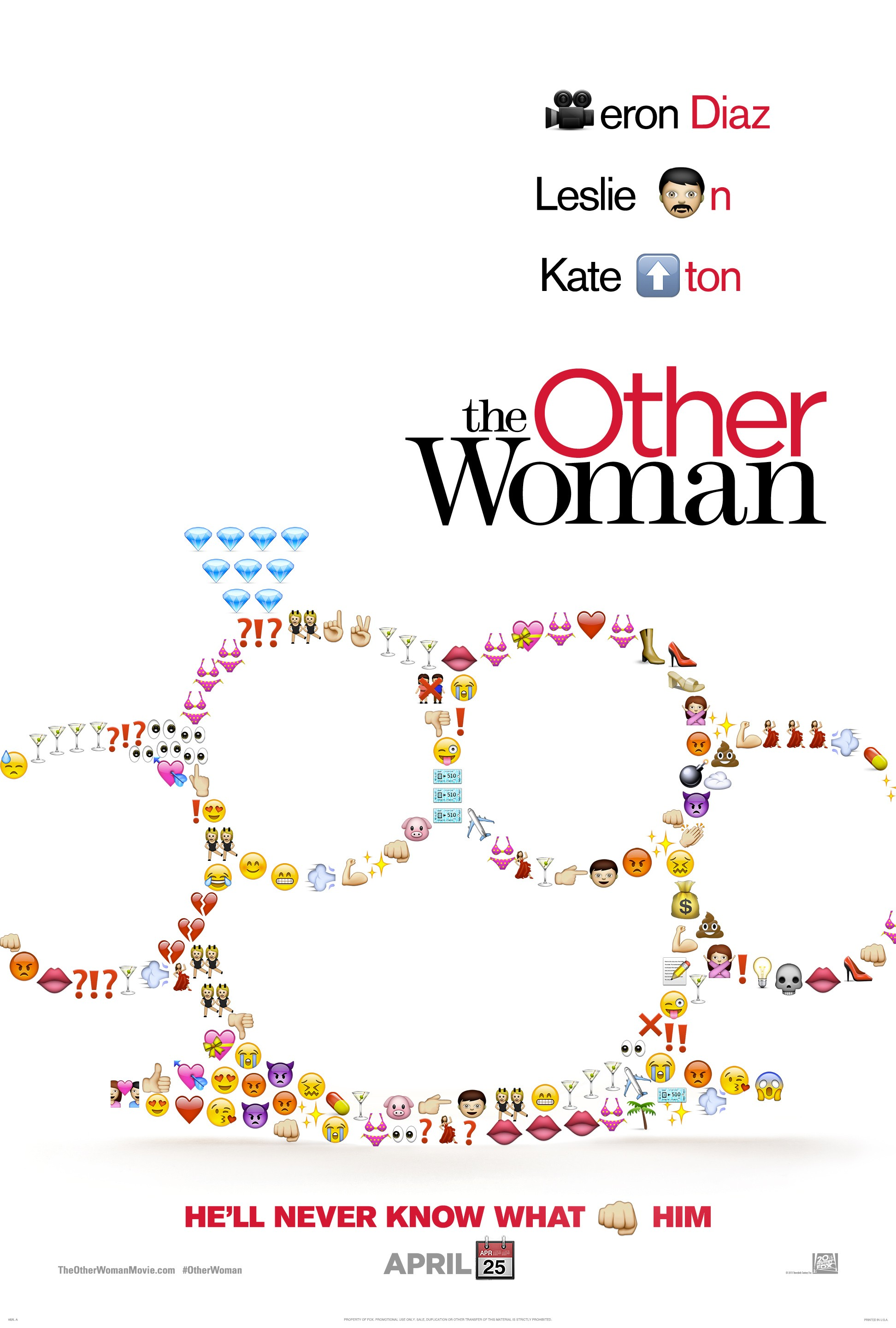 The Other Woman-Official Poster Banner PROMO XXLG-31MARCO2014