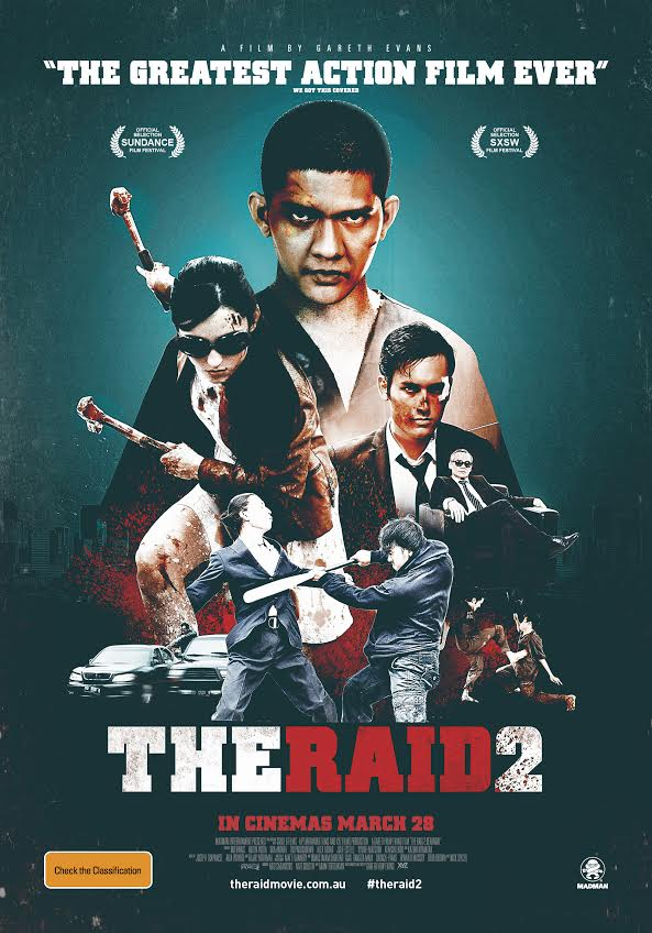 The Raid 2 Berandal-Official Poster Banner PROMO POSTER XLG-03MARÇO-01