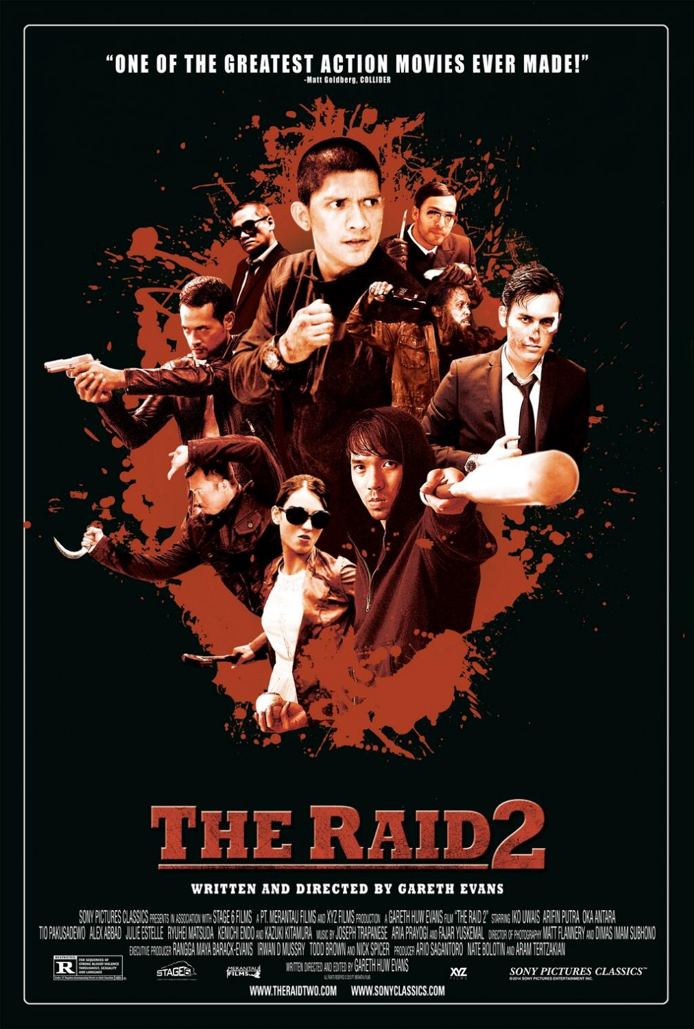 The Raid 2 Berandal-Official Poster Banner PROMO XLG-12MARCO2014