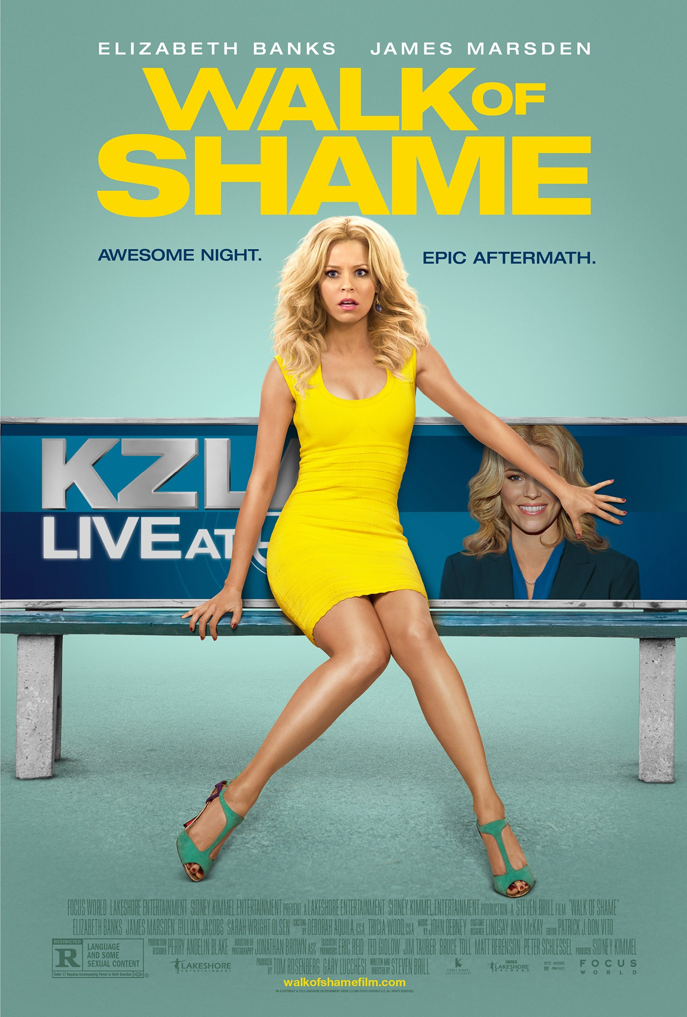 WALK OF SHAME-Official Poster Banner PROMO XXLG-21MARCO2014-01