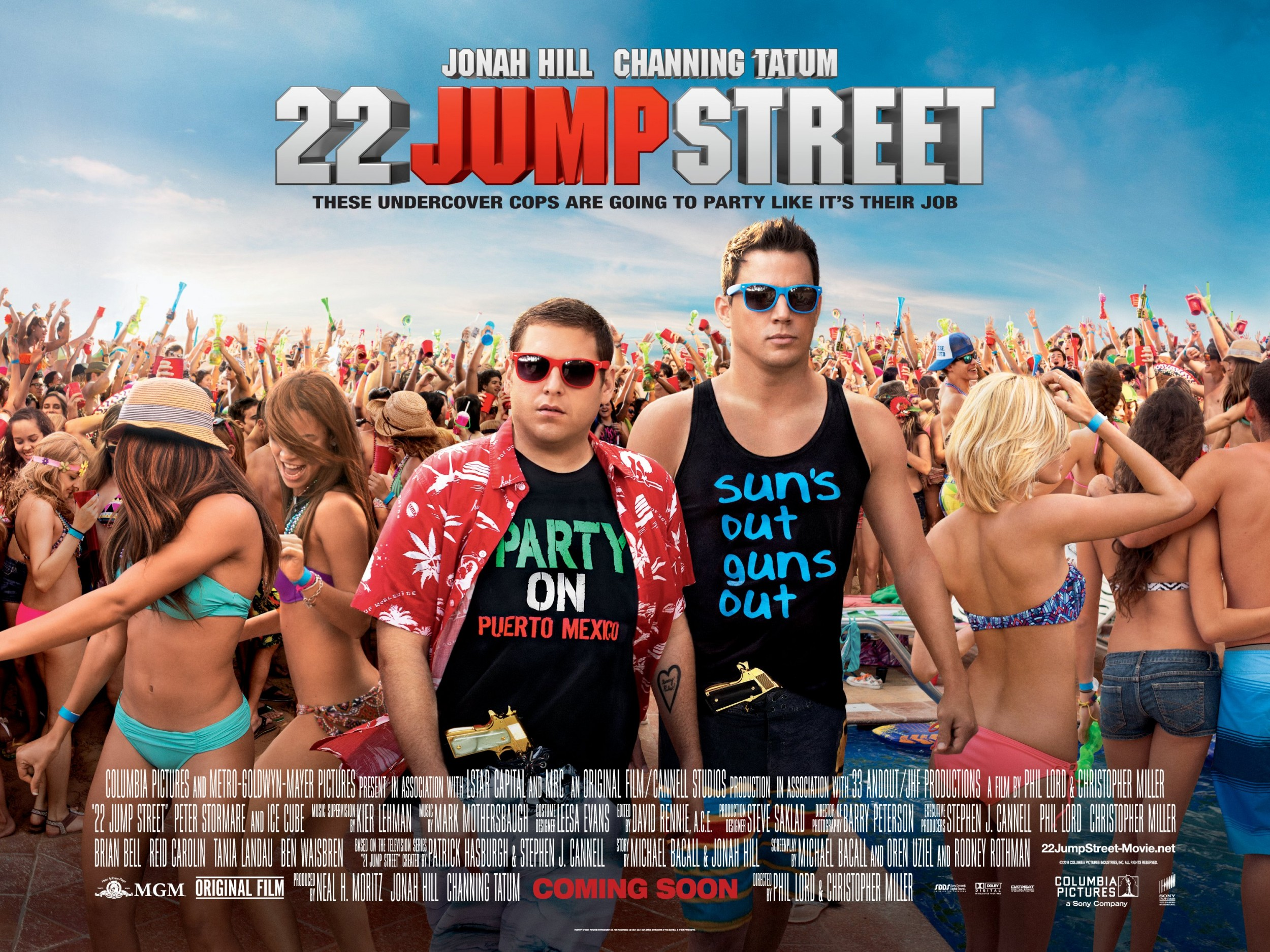 22 JUMP STREET-Official Poster Banner PROMO XXLG-25ABRIL2014