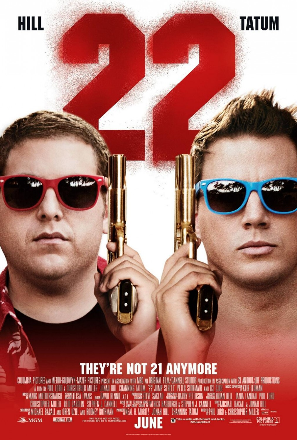 22 Jump Street-Official Poster Banner PROMO XLG-07ABRIL2014
