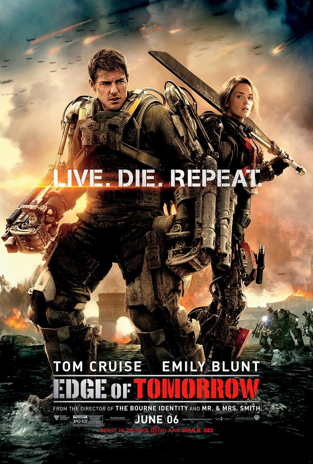 Edge of Tomorrow-Official Poster Banner PROMO XLG-22ABRIL2014