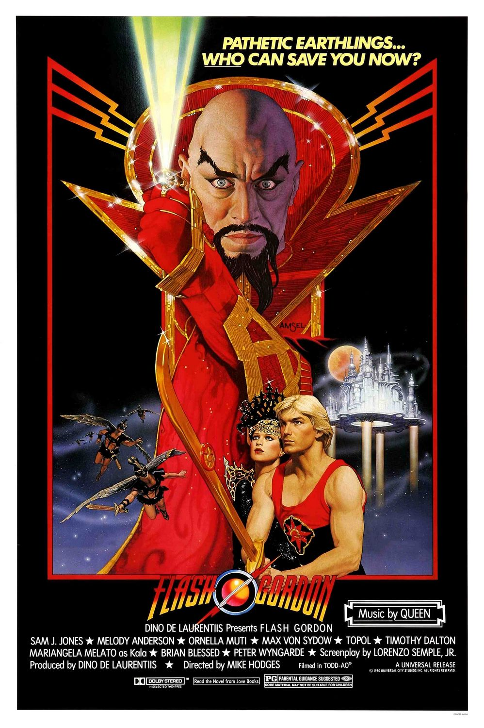 FLASH GORDON-Official Poster Banner PROMO POSTER-23ABRIL2014