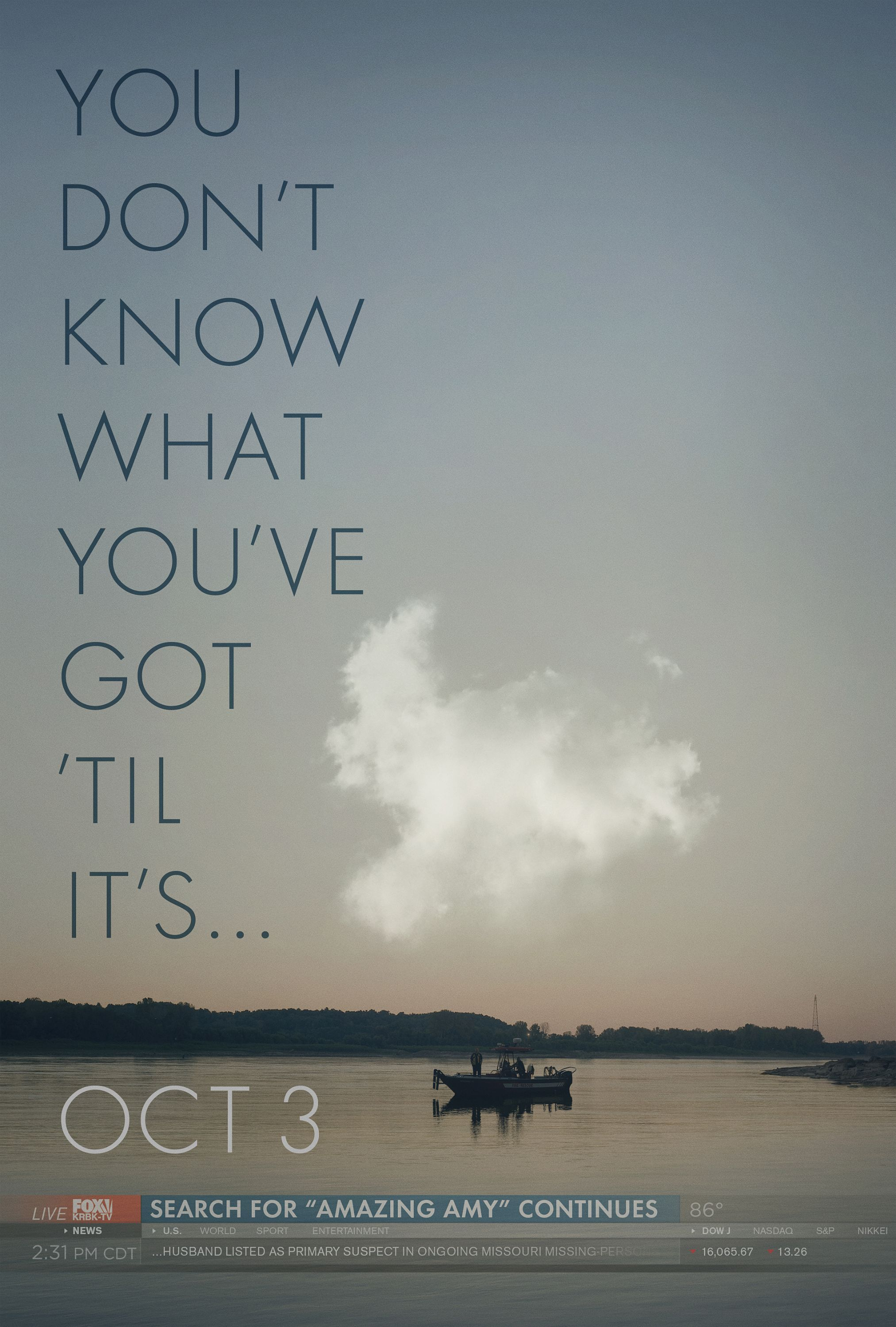 GONE GIRL-Official Poster Banner PROMO XLG-15ABRIL2014