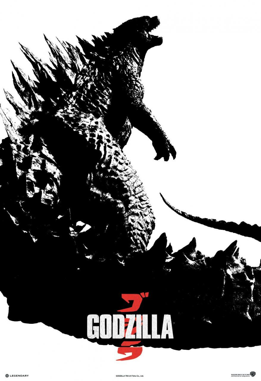 Godzilla-Official Poster Banner PROMO XLG-11ABRIL2014