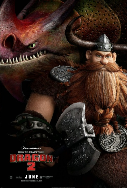 How to Train Your Dragon 2-Official Poster Banner PROMO POSTER XLG-22ABRIL2014