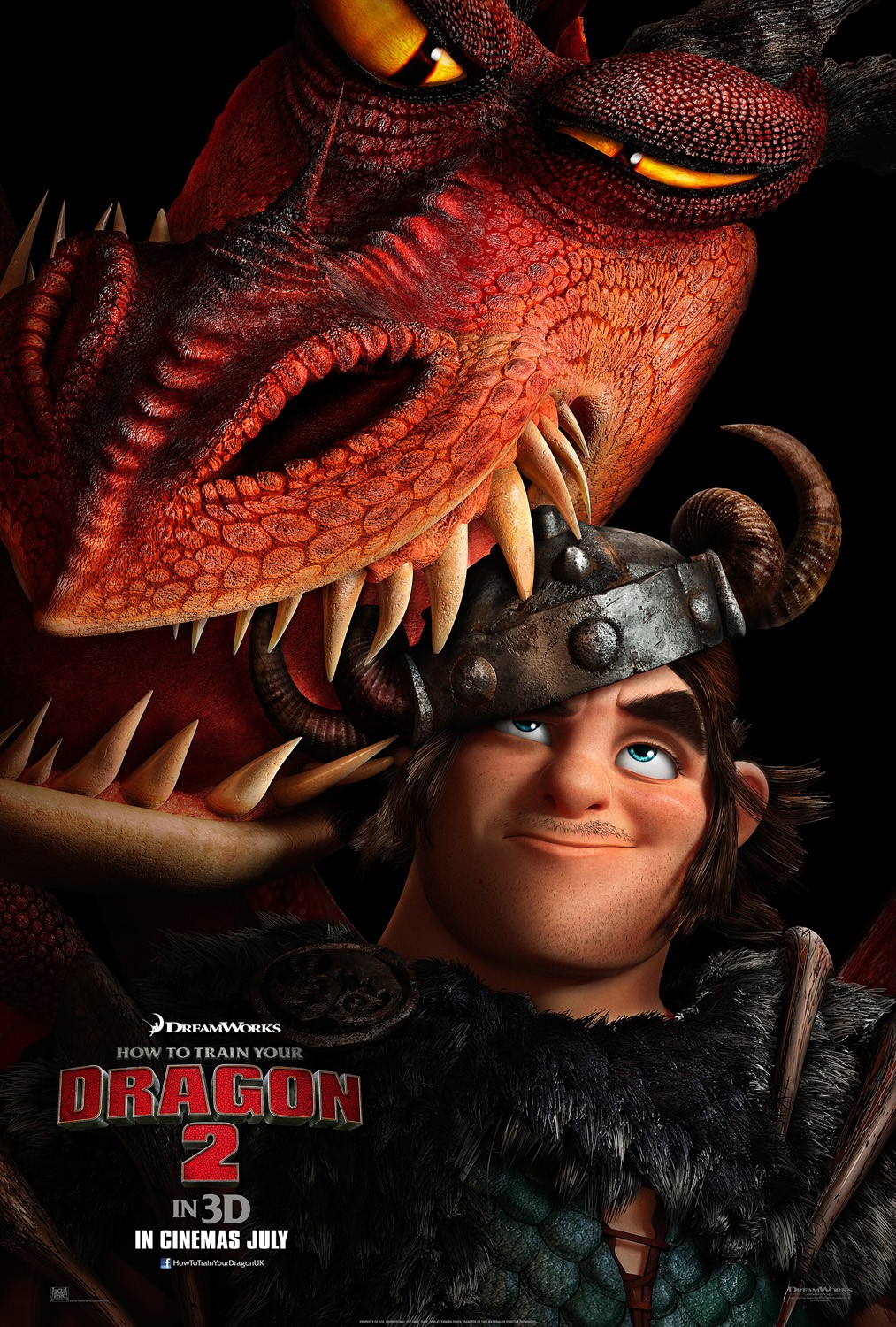 How to Train Your Dragon 2-Official Poster Banner PROMO XLG-03MARÇO2014