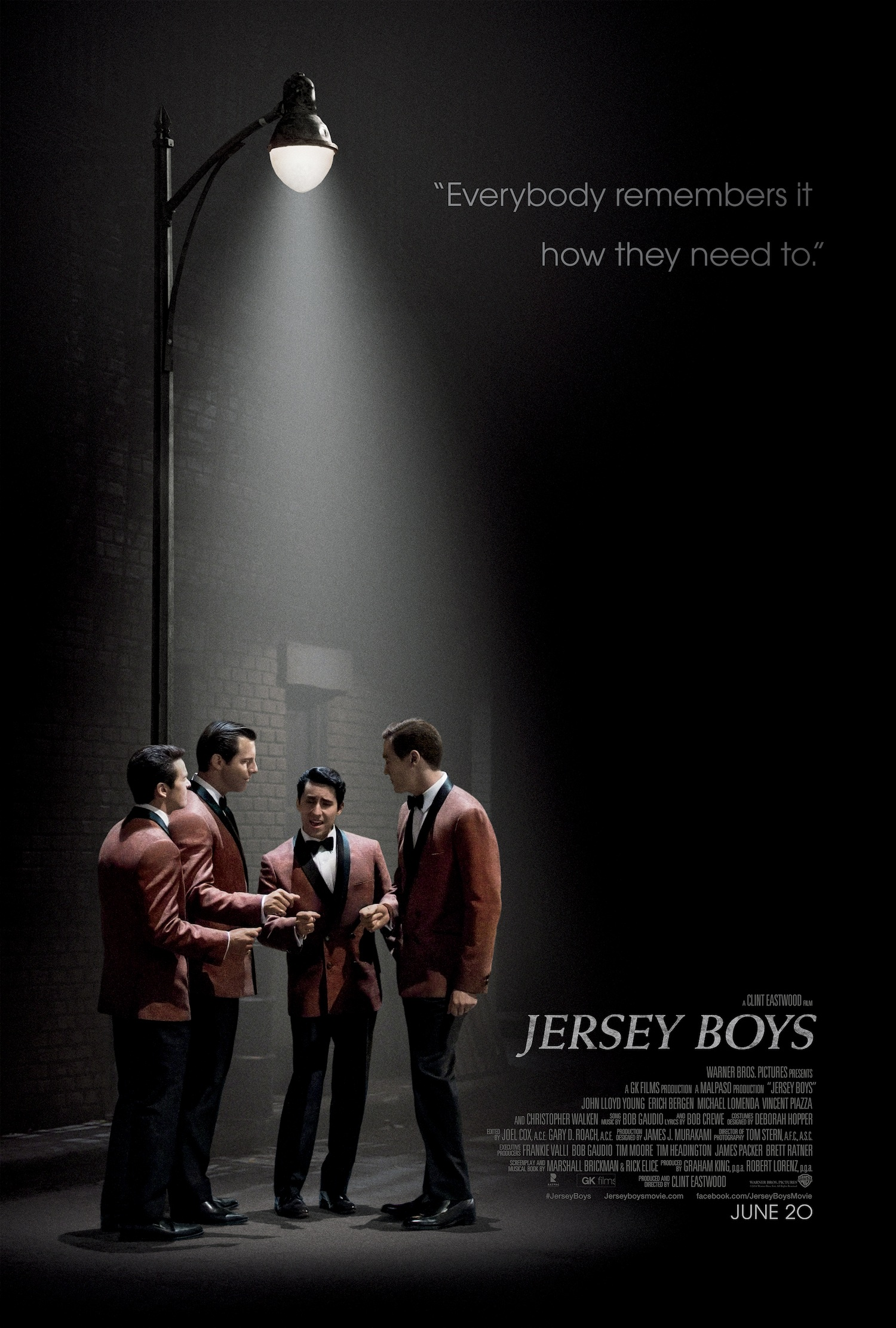 JERSEY BOYS-Official Poster Banner PROMO XLG-18ABRIL2014
