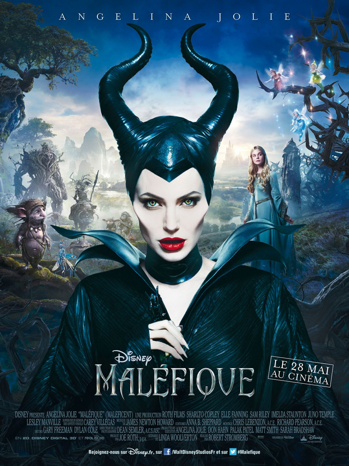 Maleficent-Official Poster Banner PROMO XLG-04ABRIL2014