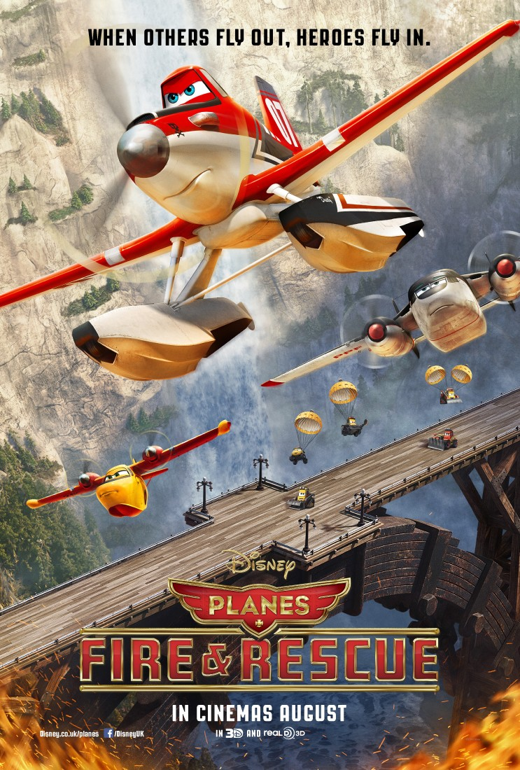 Planes Fire & Rescue-Official Poster Bannner PROMO XLG-08ABRIL2014