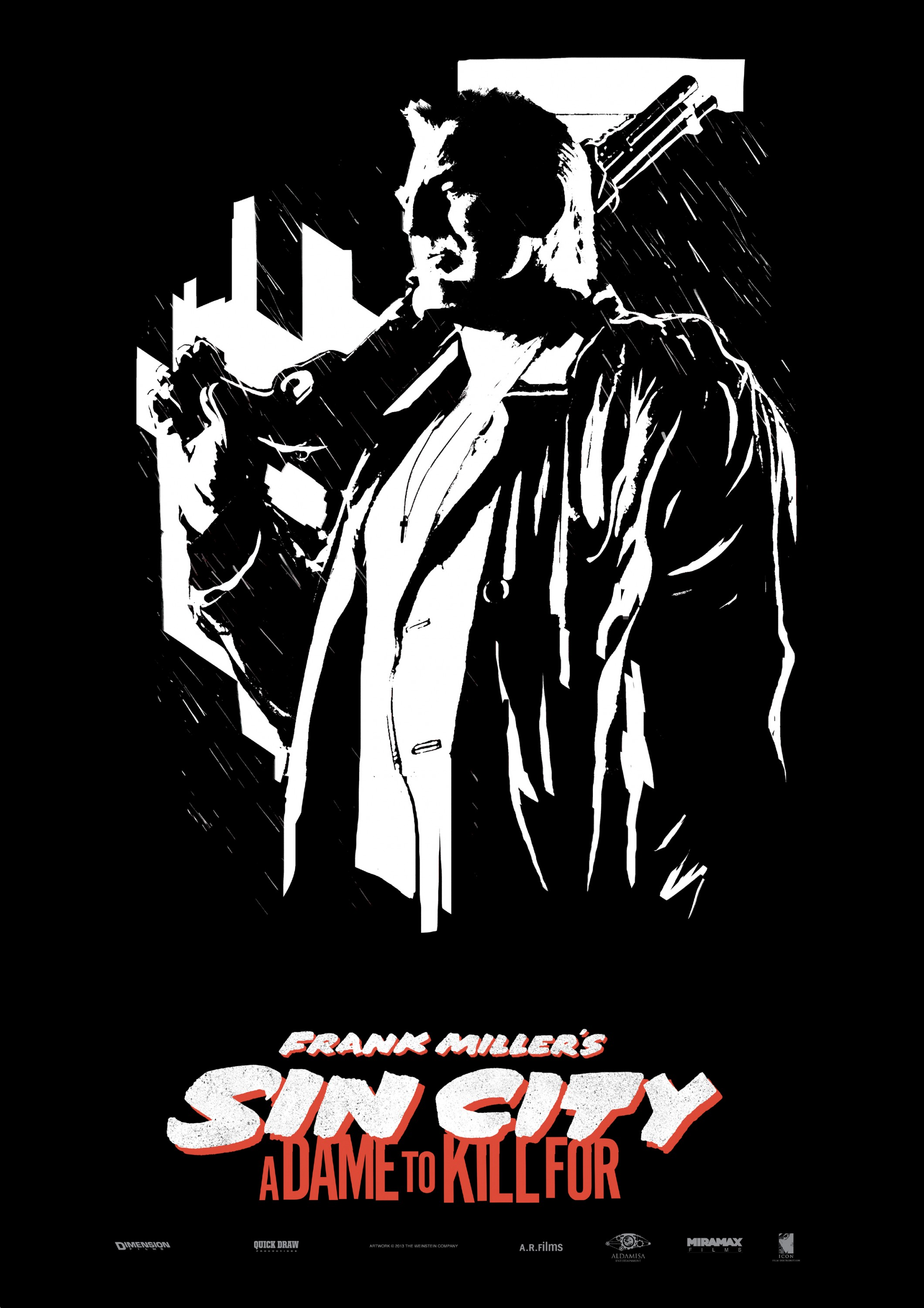 Sin City A Dame to Kill For-Official Poster Banner PROMO XXLG-30ABRIL2014