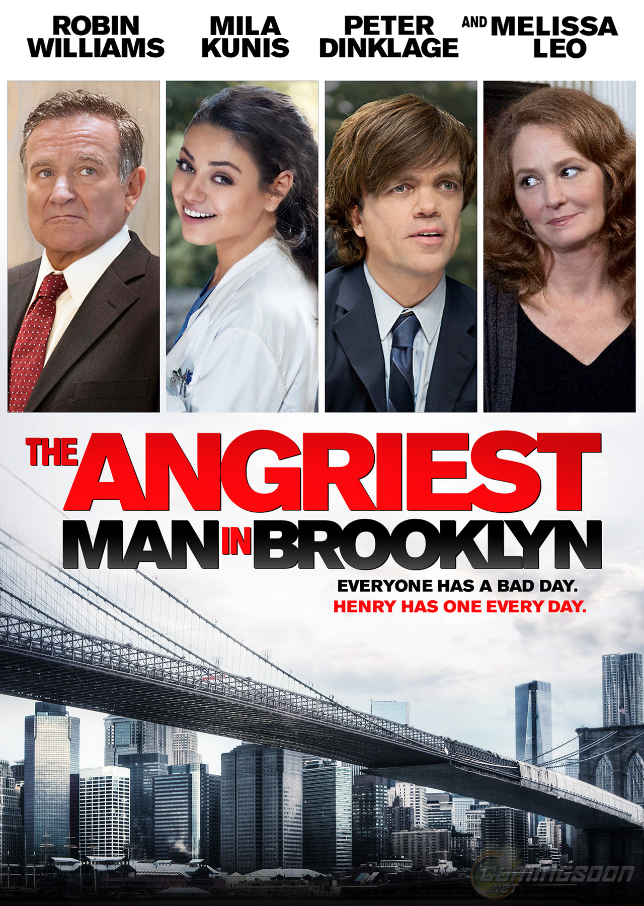 THE ANGRIEST MAN IN BROOKLYN-Official Poster Banner PROMO XLG-23ABRIL2014-01