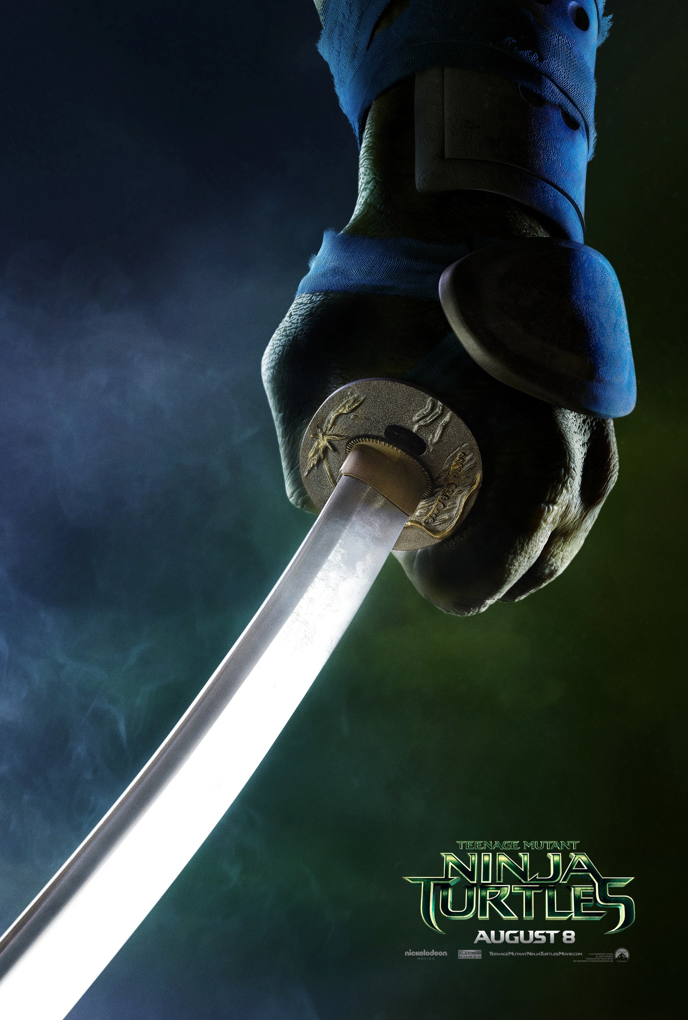 Teenage Mutant Ninja Turtles-Official Poster Banner PROMO XXLG-09ABRIL2014-01