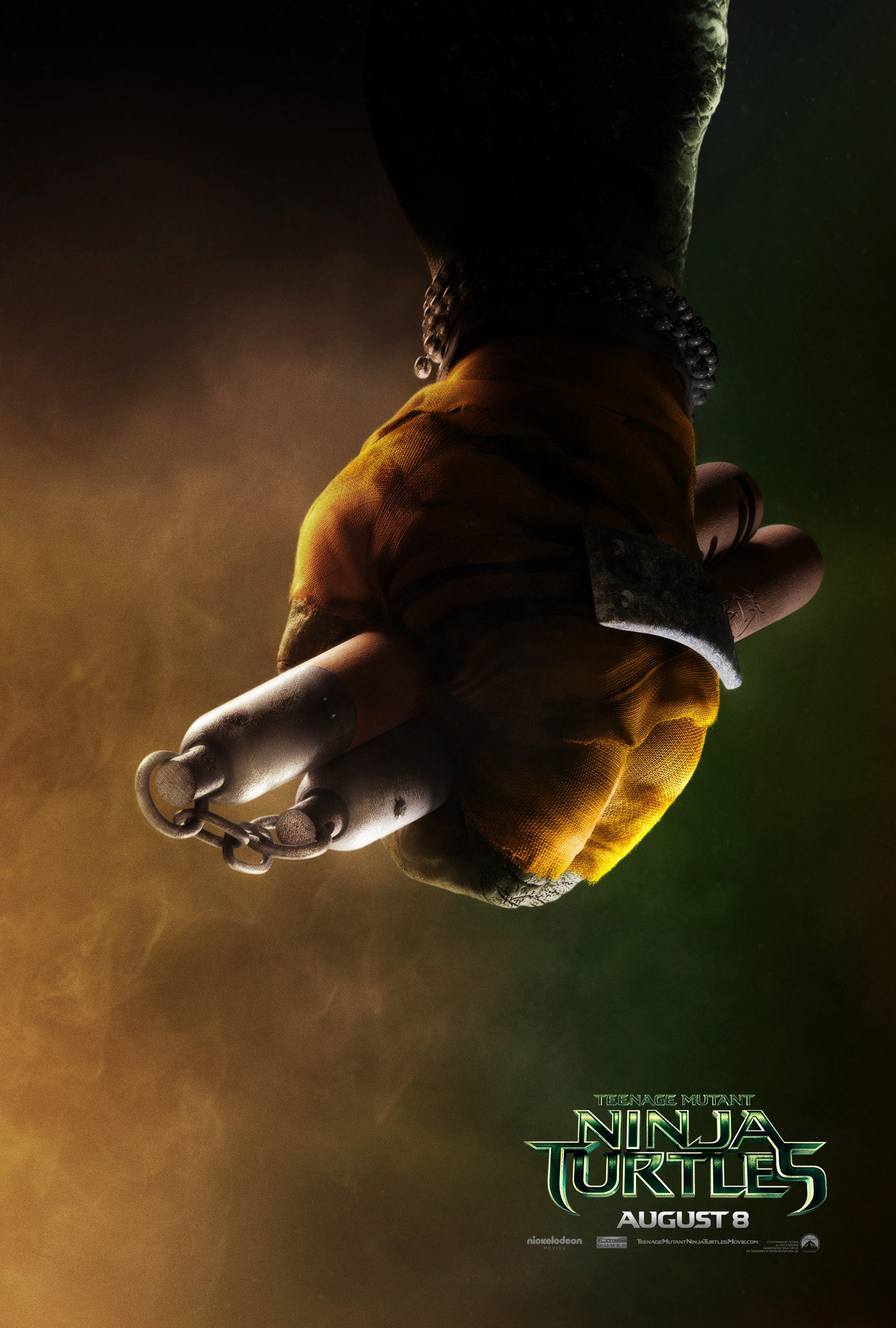 Teenage Mutant Ninja Turtles-Official Poster Banner PROMO XXLG-09ABRIL2014-02