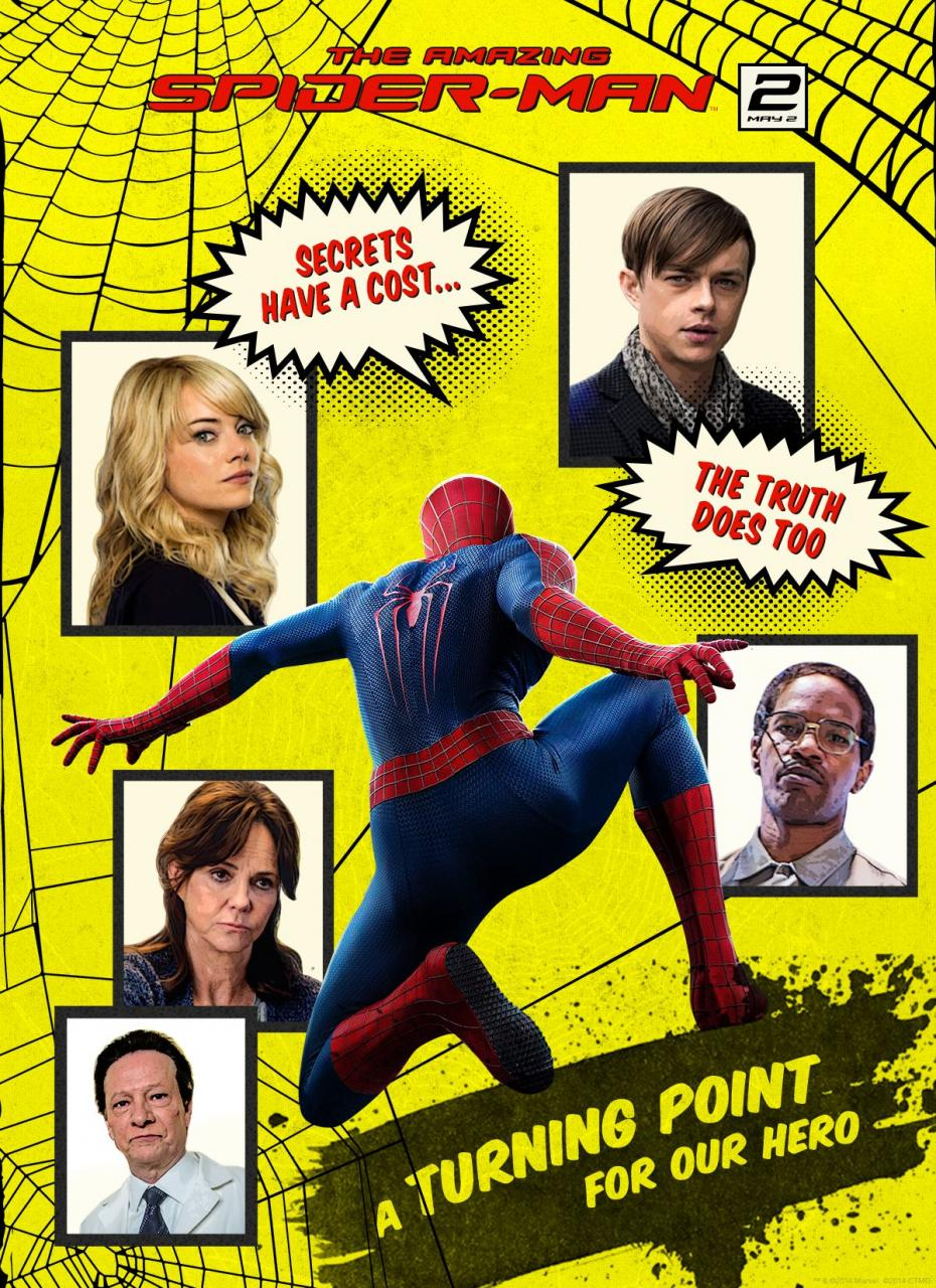 The Amazing Spider-Man 2-Official Poster Banner PROMO-09ABRIL2014