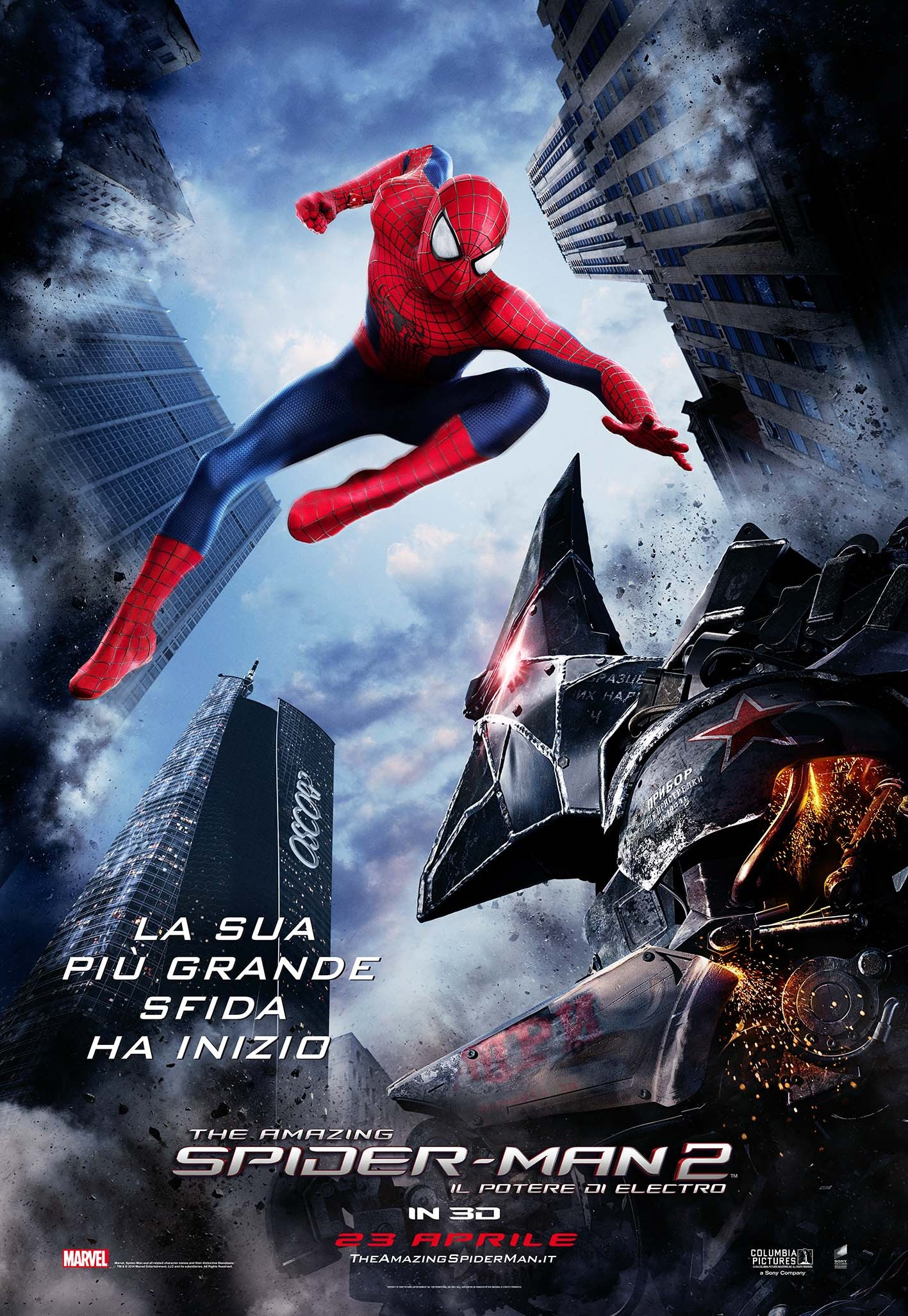 The Amazing Spider-Man 2-Official Poster Banner PROMO INTERNATIONAL-11ABRIL2014-02