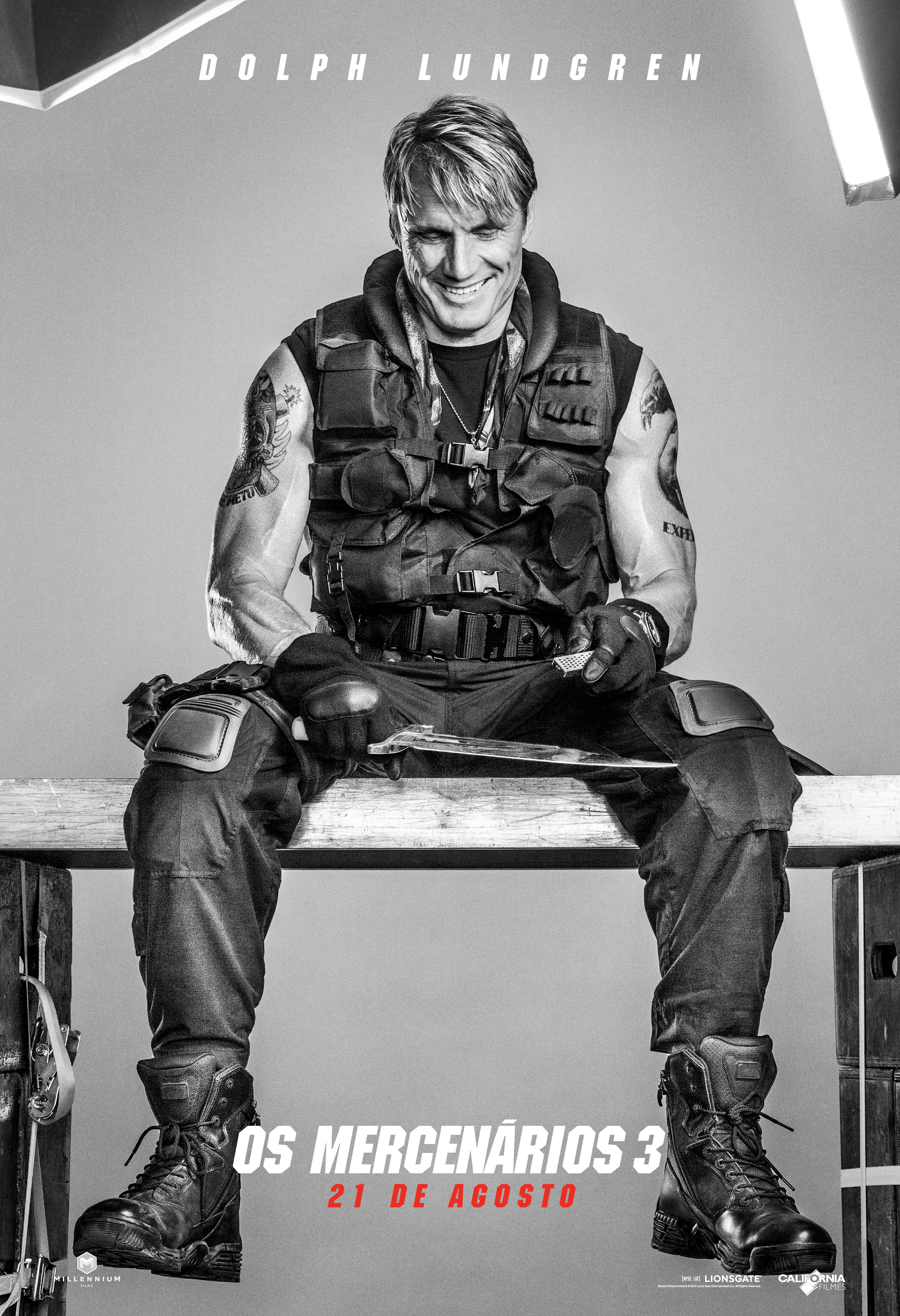 The Expendables 3-Official Poster Banner PROMO CHARS-03ABRIL2014-09