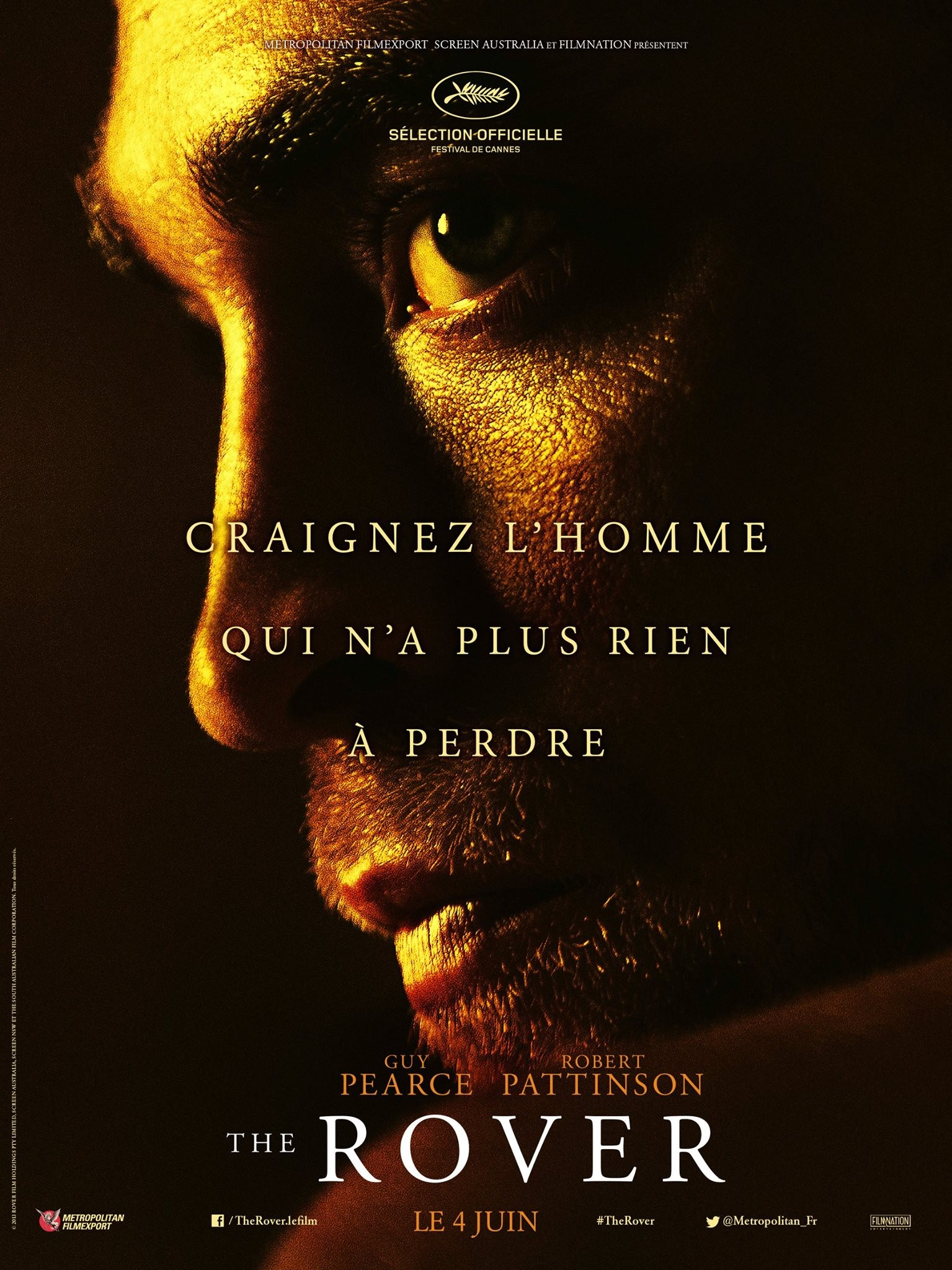 The Rover-Official Poster Banner PROMO POSTER-17ABRIL2014-02