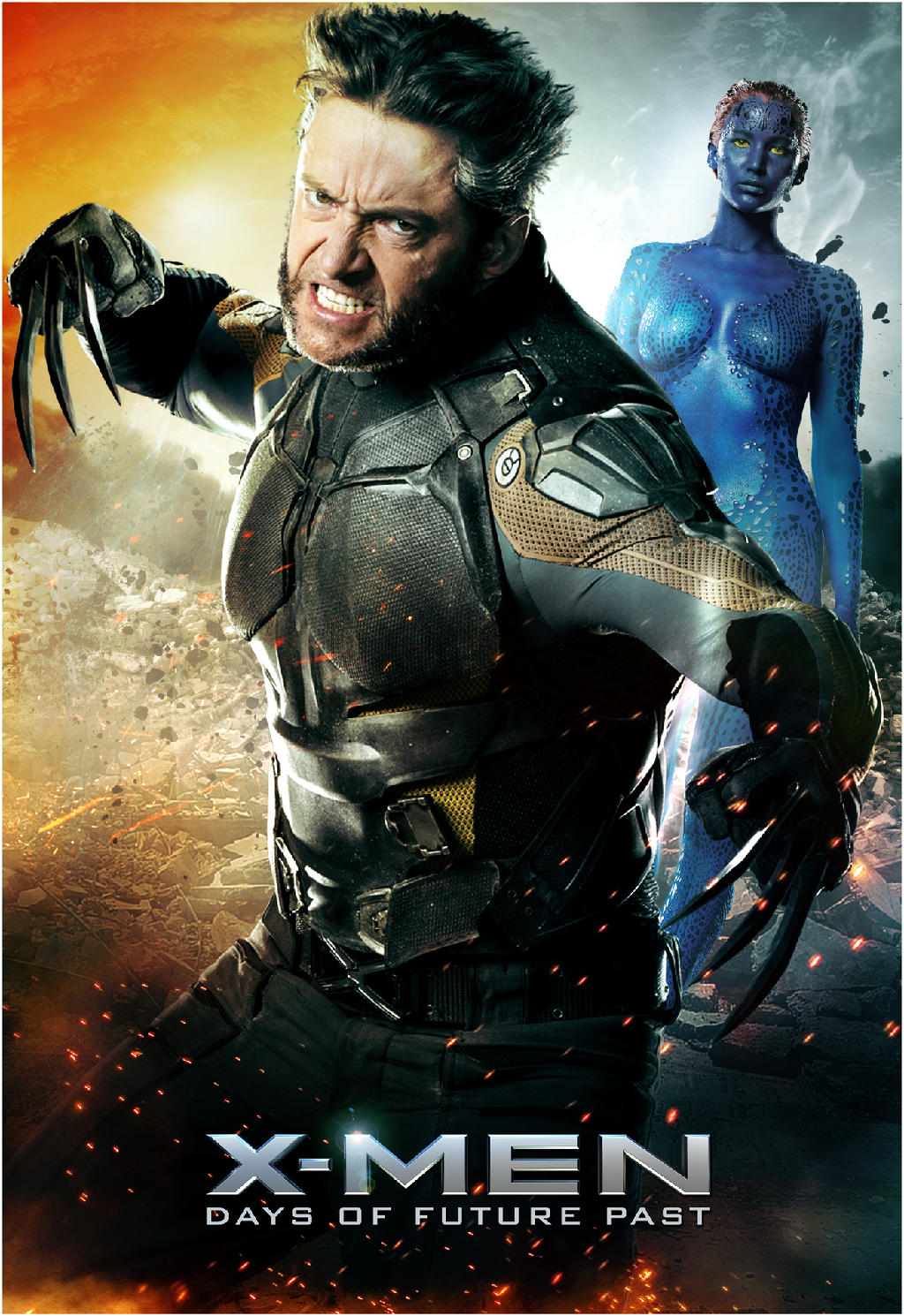 X-Men Days of Future Past-Official Poster Banner PROMO XLG-04ABRIL2014-11