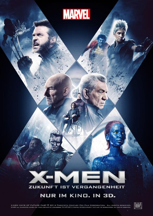 X-Men Days of Future Past-Official Poster Banner PROMO XLG-17ABRIL2014