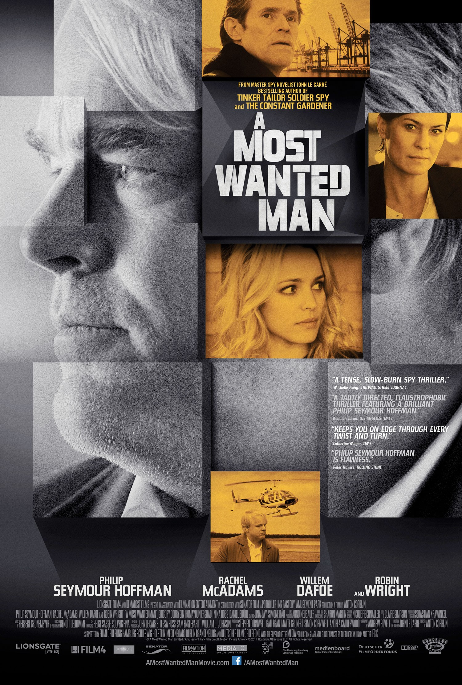 A Most Wanted Man-Official Poster Banner PROMO XXLG-20MAIO2014