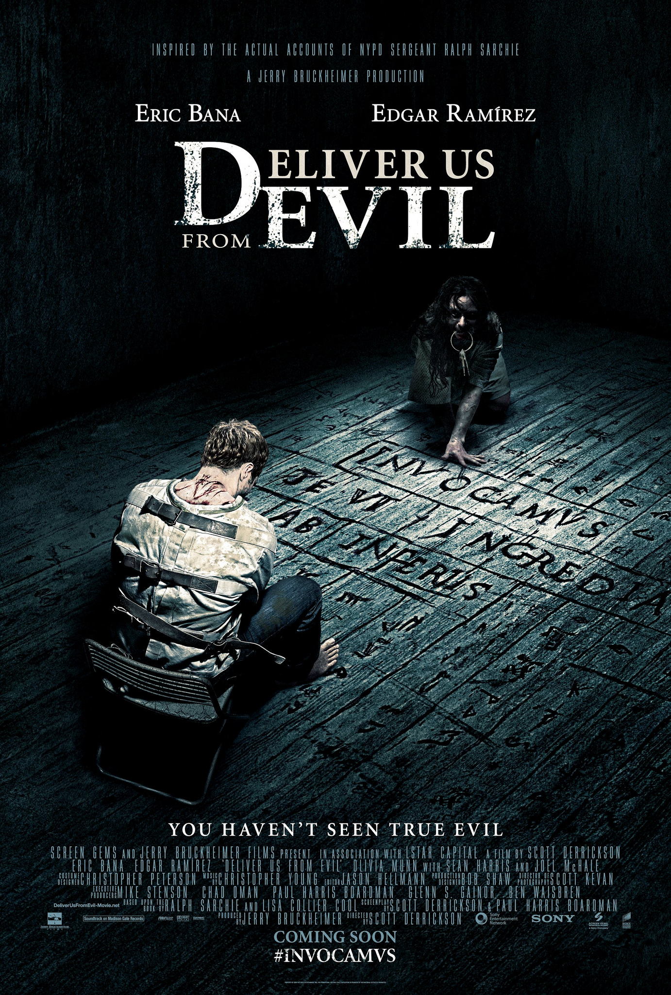 Deliver Us from Evil-Official Poster Banner PROMO XLG-27MAIO2014