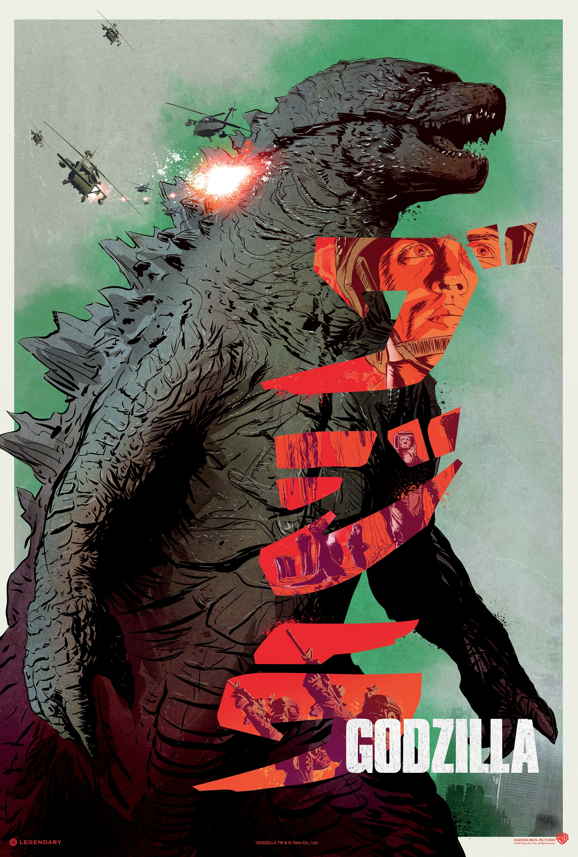 Godzilla-Official Poster Banner PROMO XLG-07MAIO2014-02