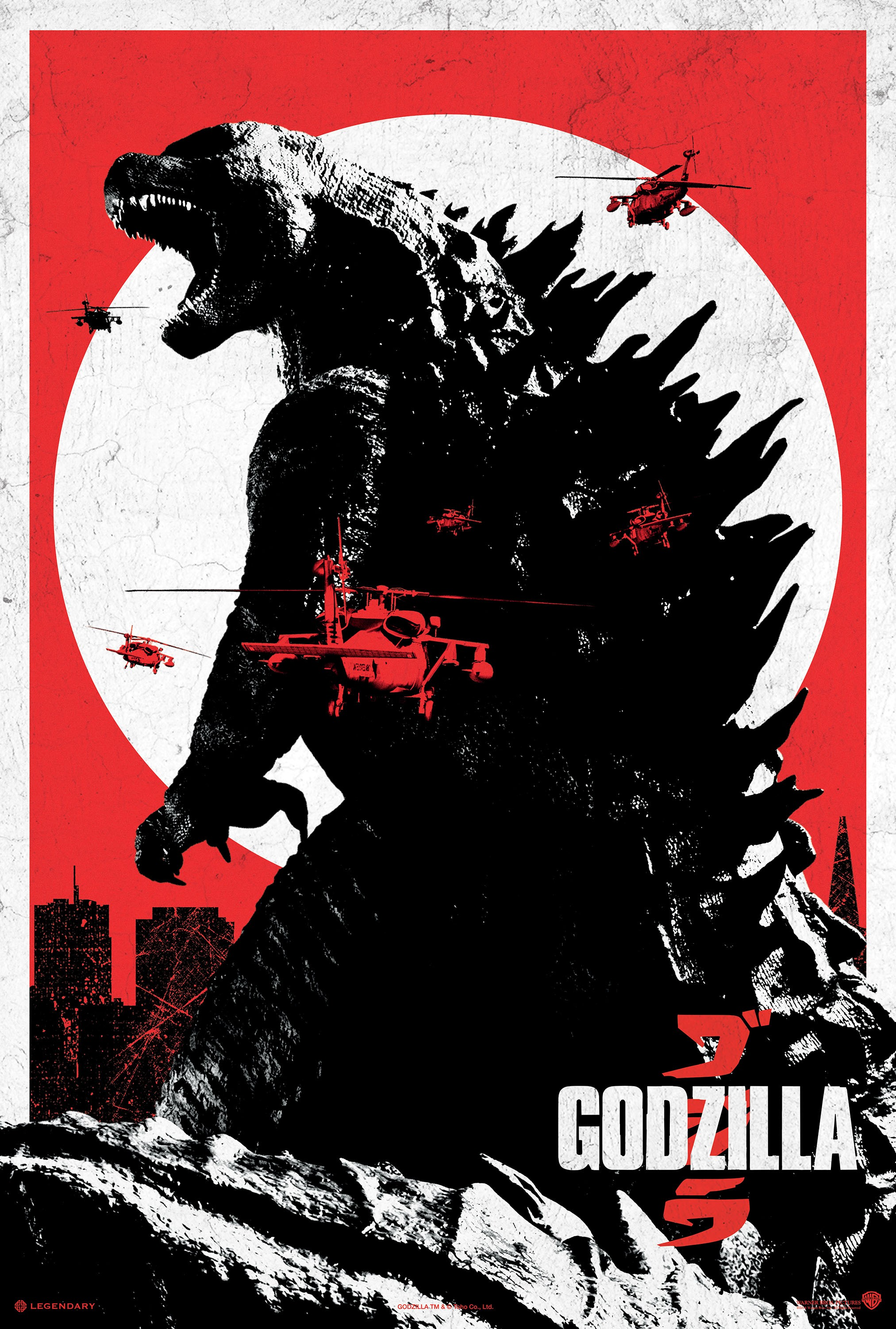 Godzilla-Official Poster Banner PROMO XLG-07MAIO2014-03