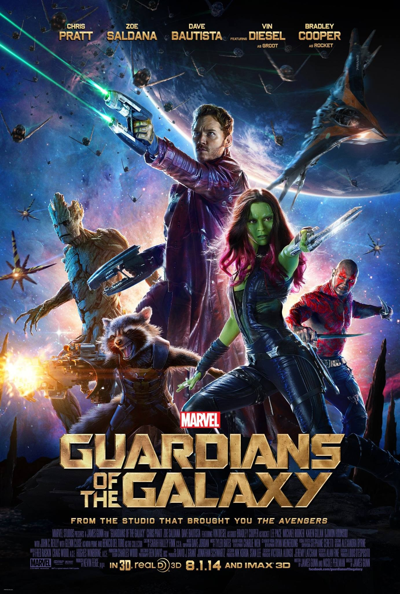 Guardians of the Galaxy-Official Poster Banner PROMO XXLG-19MAIO2014