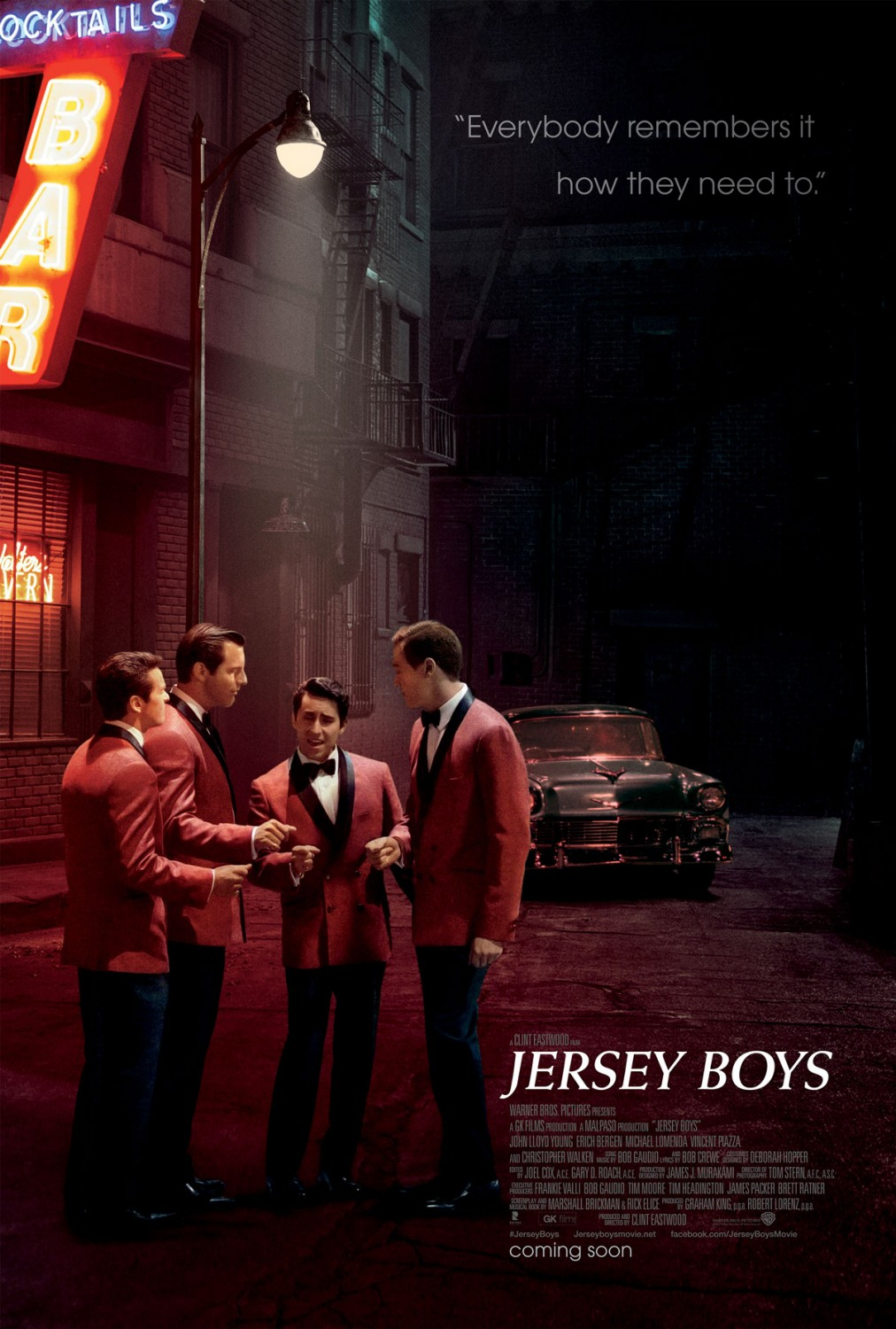 JERSEY BOYS-Official Poster Banner PROMO XLG-15MAIO2014