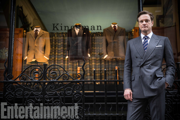 KINGSMAN THE SECRET SERVICE-Official Poster Banner PROMO-21MAIO2014-01