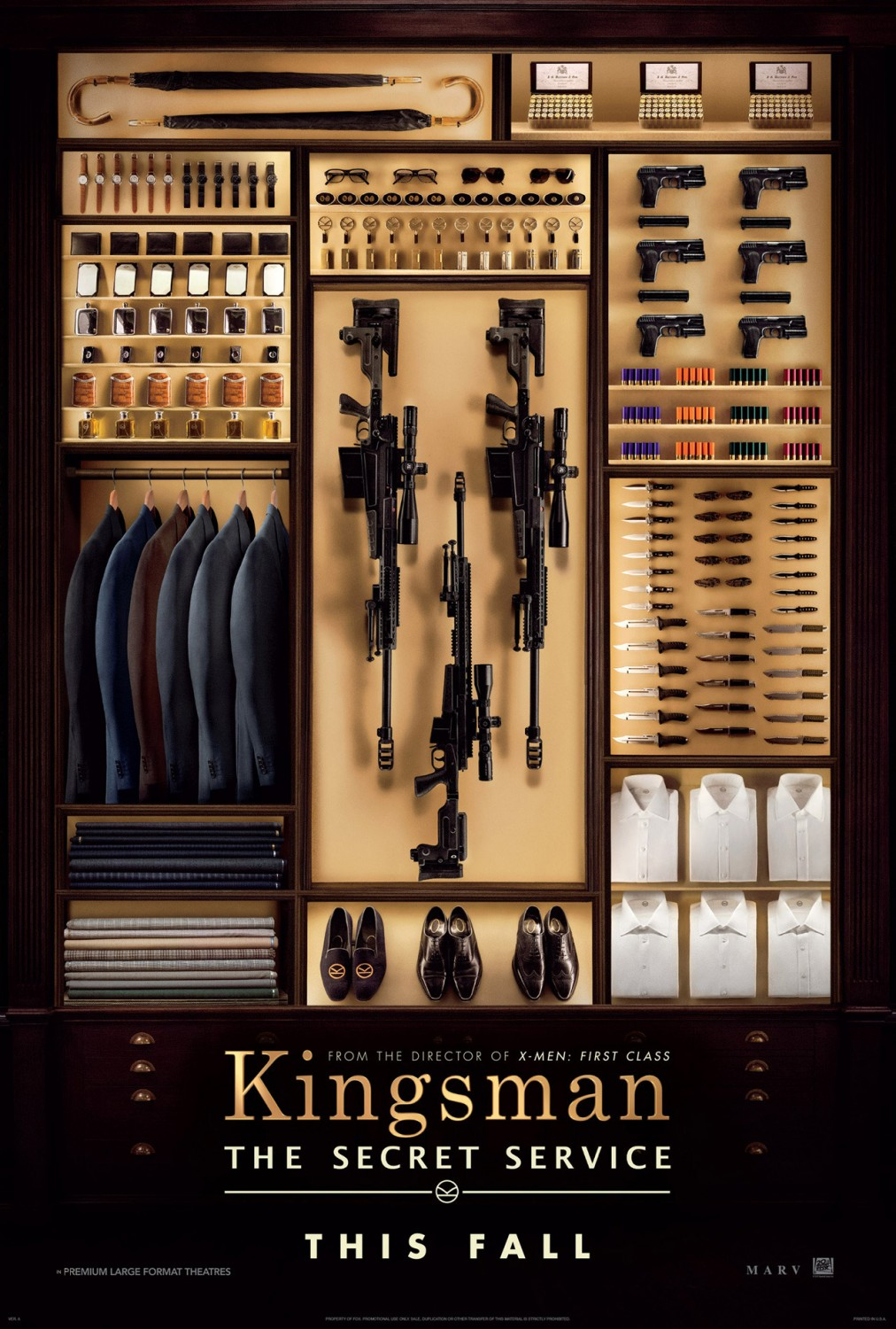 KINGSMAN THE SECRET SERVICE-Official Poster Banner PROMO XLG-21MAIO2014-01