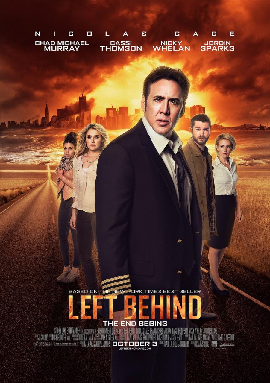 Left Behind-Official Poster Banner PROMO XLG-30MAIO2014