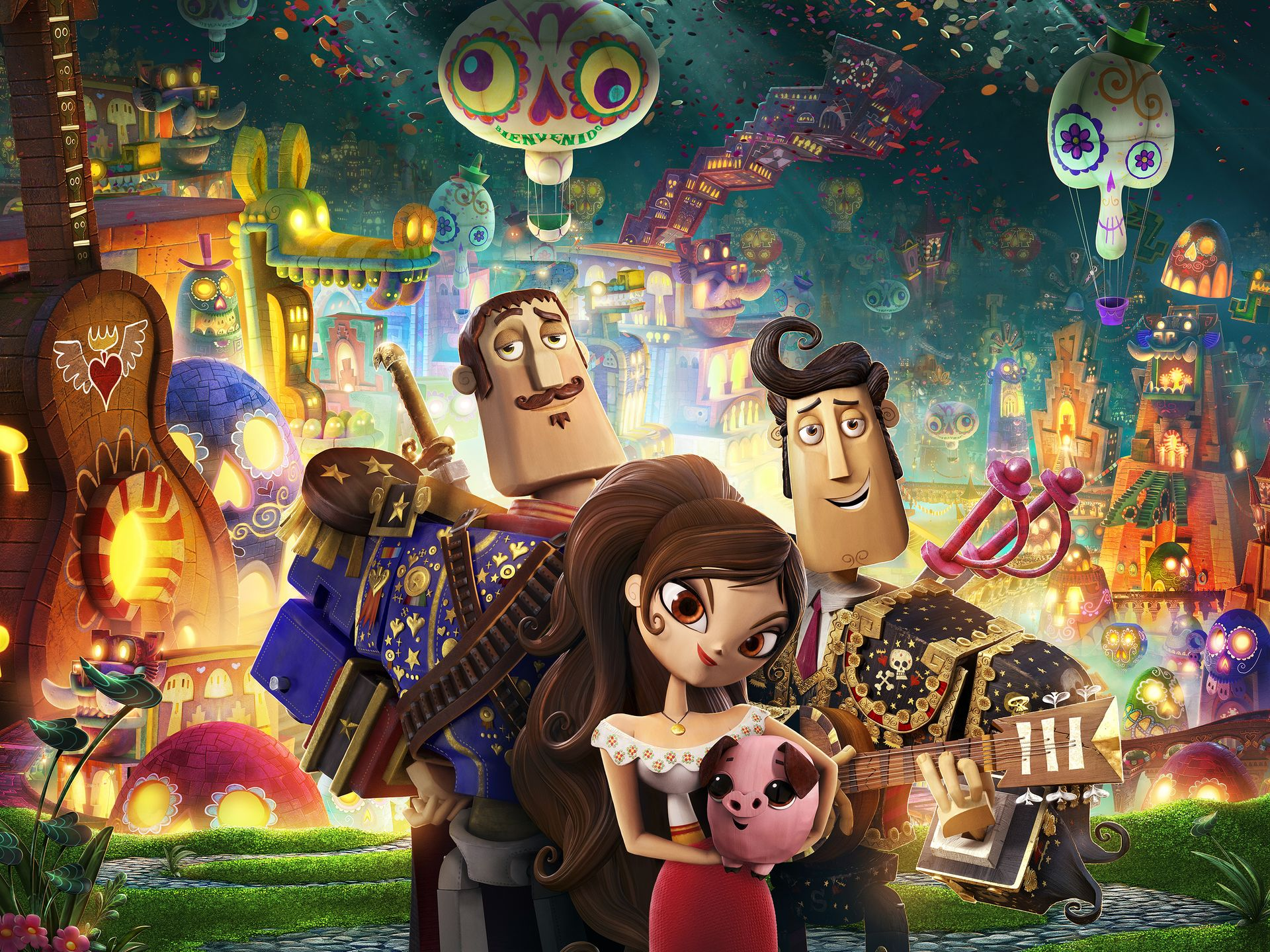 The Book of Life-Official Poster Banner PROMO PHOTOS-28MAIO2014-05
