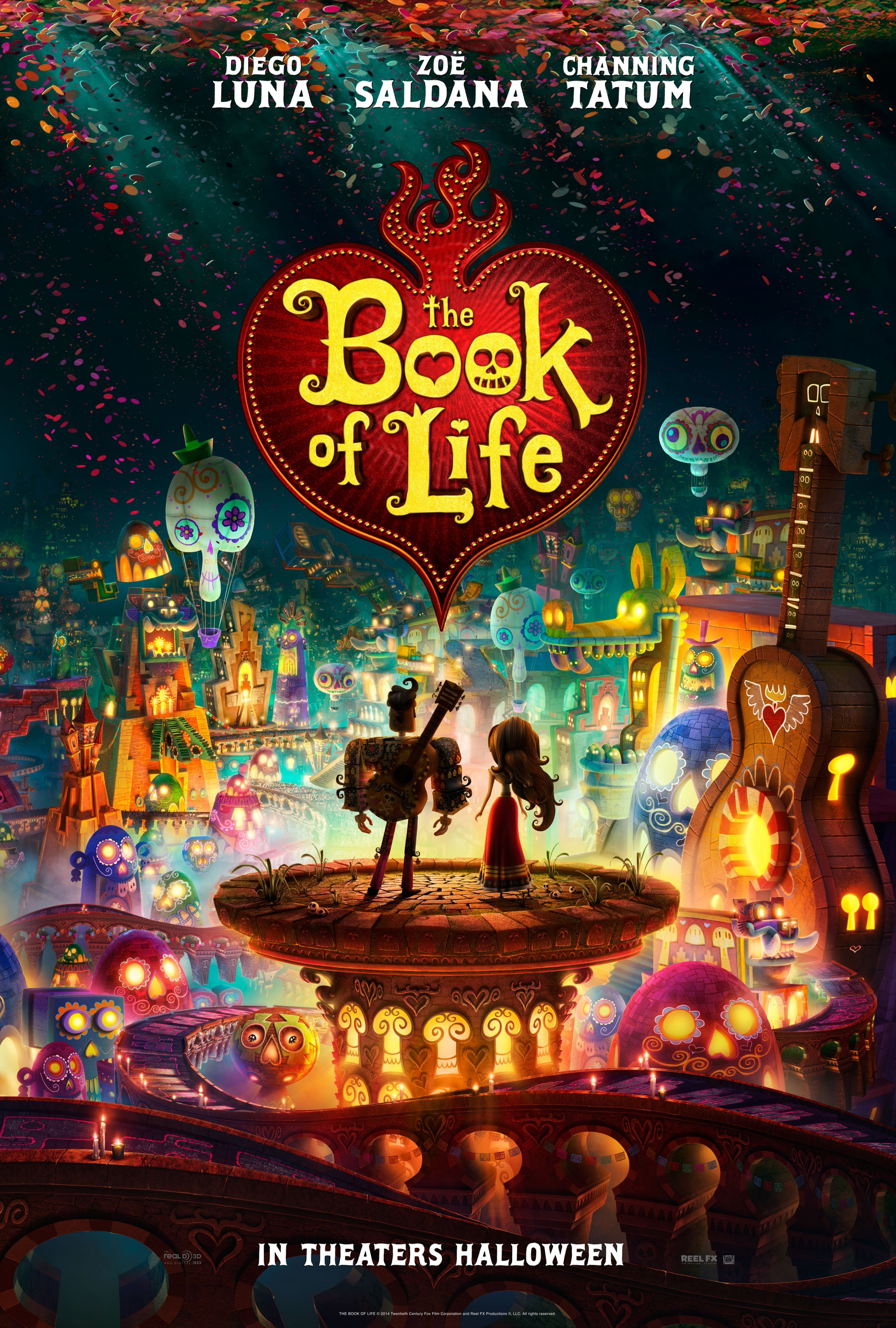 The Book of Life-Official Poster Banner PROMO XXLG-29MAIO2014